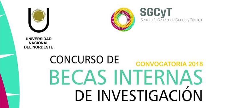 Becas Internas 2018